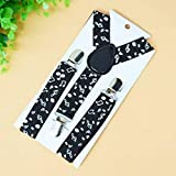 SaveStore Fashion Adjustable Baby Suspenders Clip Children Elastic Clip Belt for Boys
