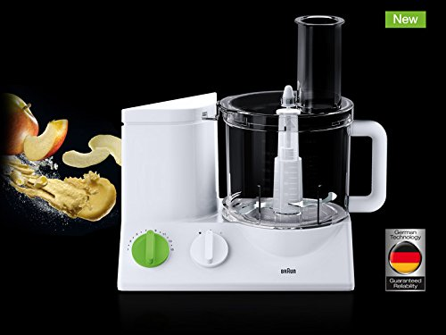 BRAUN FP3020 Food Processor With The Coarse Slicing Insert Blade And French fry System Bundle – 3 items by Braun (Image #6)