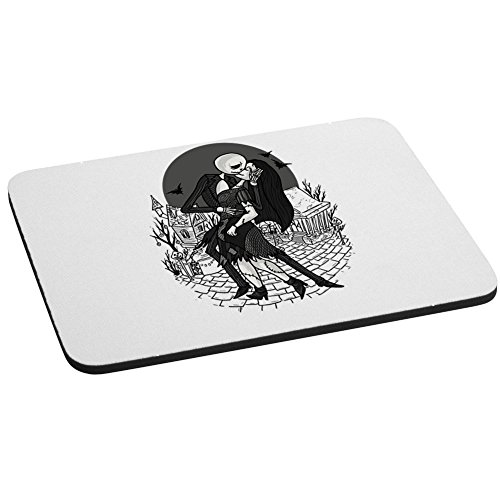 Computer Mouse Pad - H Day at Halloween Town - Parody Design -