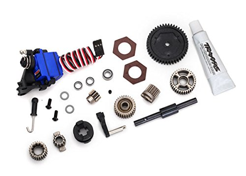 Speed 4 Conversion (Traxxas 8196 TRX-4 Two Speed Conversion Kit, Silver)