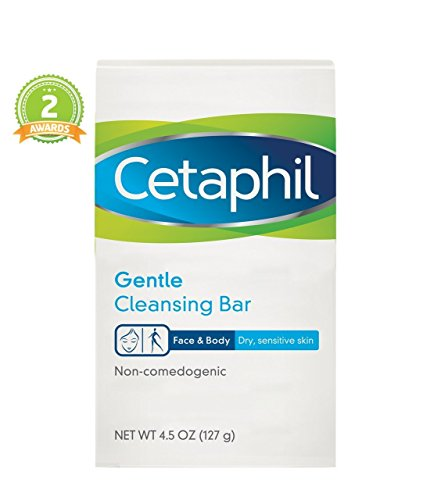 Gentle Cleansing Bar (Cetaphil Gentle Cleansing Bar 4.5 (Pack of 2))