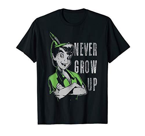 Disney Peter Pan Never Grow Up Vintage Portrait T-Shirt