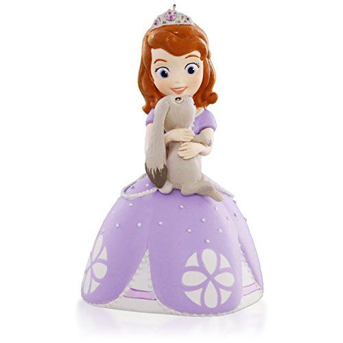 Hallmark Keepsake Ornament: Disney Sofia the First and Clover BFFs