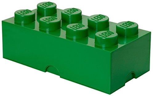 LEGO Storage Brick 8 Dark Green -  40040634
