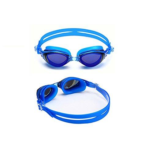 Gafas Natación Gafas Natación Marco Unisex Azul Antivaho De De Impermeable Moda HD QY Grande tRWqwT5t
