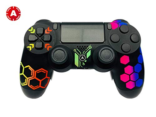 AimControllers PS4 Custom Wireless Controller, Playstation 4 Personalized Gamepad with 4 Paddles - Hive 1