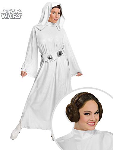 Star Wars Princess Leia Costume Kit Adult Small with Headband -