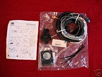 Amazon.com: Jeep Wrangler JK 7-Pin TRAILER WIRING OEM Mopar ... on jeep navigation system, jeep bed liner, jeep roof rack, jeep air conditioning, engine wiring, jeep armrest, jeep bucket seats, jeep trailer lights, jeep trailer harness, jeep trailer hitch, jeep floor mats, jeep brakes, jeep trailer connector, jeep trailer design, jeep alloy wheels, jeep trailer receiver, jeep towing, ford wiring, jeep trailer interior, jeep gauges,