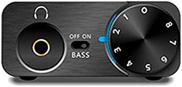 FiiO E10K USB DAC and Headphone Amplifier (Black): Amazon