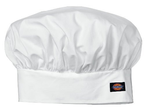 Dickies Drop Ship Traditional Chef Hat - WHITE - OS