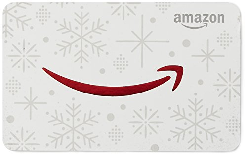 Large Product Image of Amazon.com Gift Card in a Snowman Tin