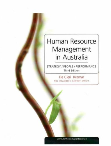 contemporary issues in human resource management 4th edition pdf