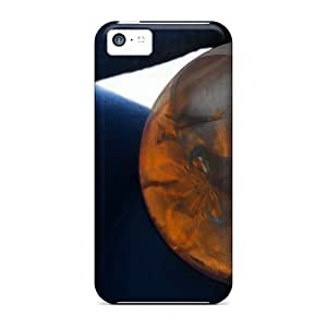 Durable Protector Case Cover With Fractals Marbles Hot Design For Iphone 5c