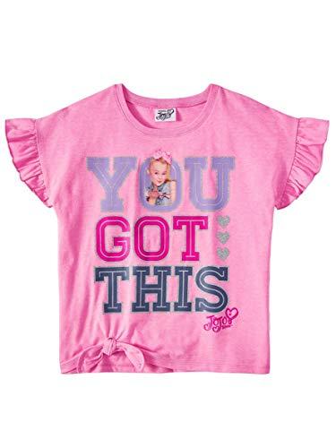 Match Pants Shirt - JoJo Siwa Mix and Match Clothing Outfits Shirts Pants Skirts (Medium 7-8, Pink You Got This)