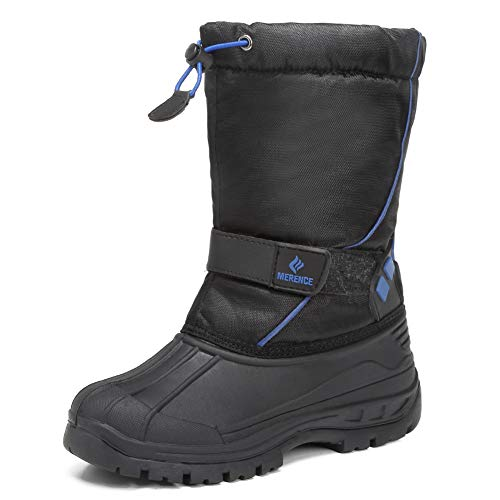 EQUICK Boys and Girls Waterproof Winter Snow Boots Now $8.10 (Was $28.99)
