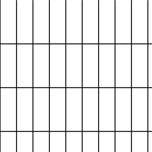DeerBusters 6' x 100' Welded Wire 14 Gauge Before PVC Coating 1.5''x 4'' Mesh