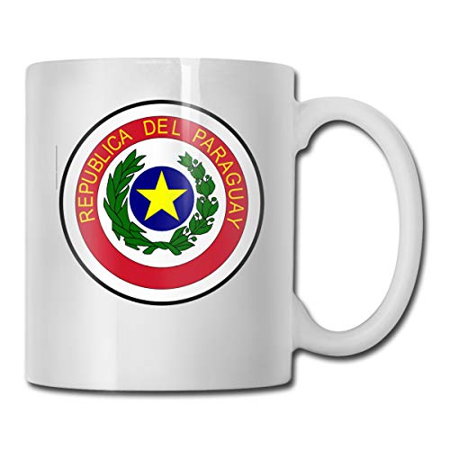 Riizm-mug Funny Mug Coat Of Arms Of Paraguay Coffee Cup 11-oz Coffee Cup