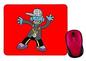 Mauspad Junge Cartoon Charakter Comic Comic Figuren Tanz