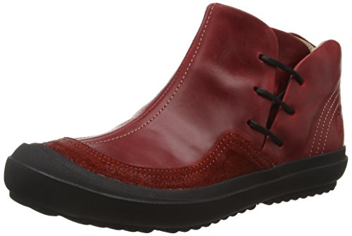 Fly LondonMilt246fly - Botines, Mujer Rojo