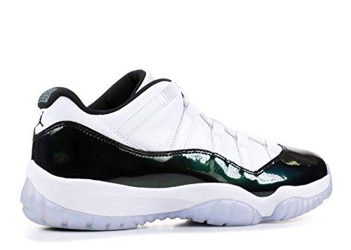 Pictures of Jordan Air 11 Retro Low Men's Variation White/Emerald Rise/Black 3