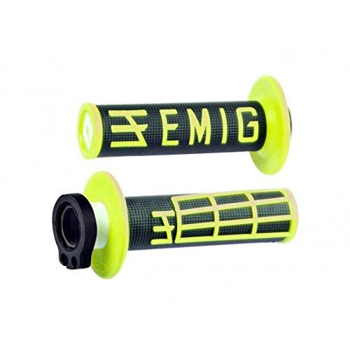 Rev/êtements Lock-On Odi Emig V2 Throwback Edition Bicolores Noir//Jaune OG1125
