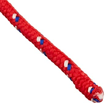 Rope King DBP-316100 Diamond Braided Poly Rope 3/16 inch x 100 feet (Colors may vary)