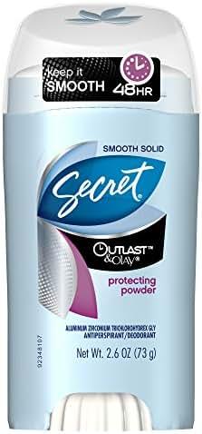 Deodorant: Secret Outlast with Olay