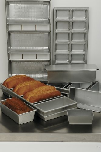 Focus Foodservice Commercial Bakeware 4 Strap 10 by 5-Inch Bread Pan Set by Focus Foodservice (Image #2)