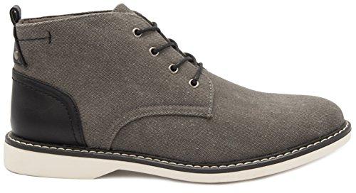 Chukka Fog Black Grey Belmont Mens London Boot 1tw8F7nn