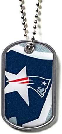 aminco NFL New England Patriots Dynamic Dog Tag