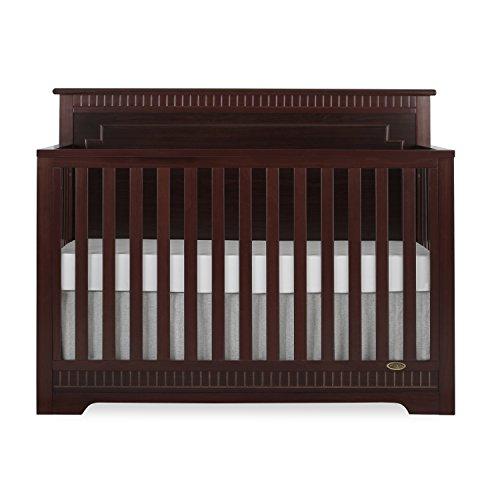 - Dream On Me Morgan 5 in 1 Convertible Crib, Cherry