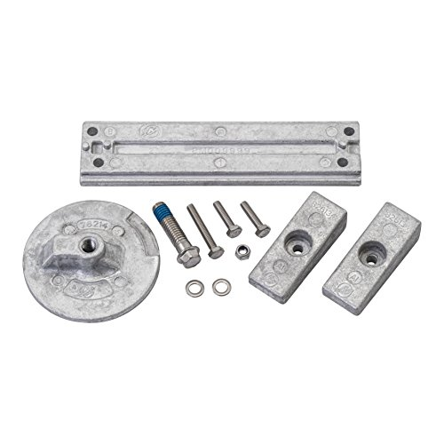 Quicksilver 8M0107550 Aluminum Anode Kit - Mercury Verado and Optimax Outboards
