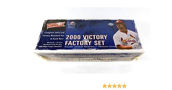 2000 Upper Deck Victory Baseball Complete Factory Set