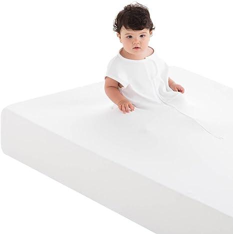 Sábana de Seguridad 100% Algodón Cama 105x190/200 cm - FABRICADA EN ESPAÑA: Amazon.es: Bebé