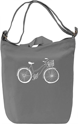 Bike Borsa Giornaliera Canvas Canvas Day Bag| 100% Premium Cotton Canvas| DTG Printing|