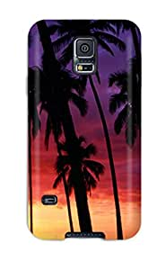 Slim Fit Tpu Protector Shock Absorbent Bumper Sunset Spectacular Case For Galaxy S5 9273472K21858797