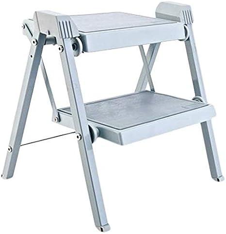 YZjk Taburete, Escalera Plegable Engrosada, Escalera Antideslizante para escaleras mecánicas: Amazon.es: Hogar