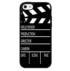 Director Cut Board Black and White Hard Snap on Phone Case (iPhone 5c)