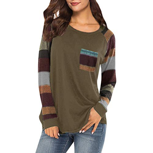 Boston Mens Sleeveless Tee (Zackate Womens Long Sleeve Side Split Loose Casual Pullover Tunic Tops Patchwork Long Sleeve with Pocket Brown)