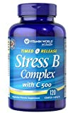 Vitamin World Stress B Complex with C-500 Time Release, 120-Tablets Review