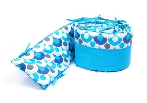 Bloom Alma Mini Lollipop Bumper, Bermuda Blue by BLOOM