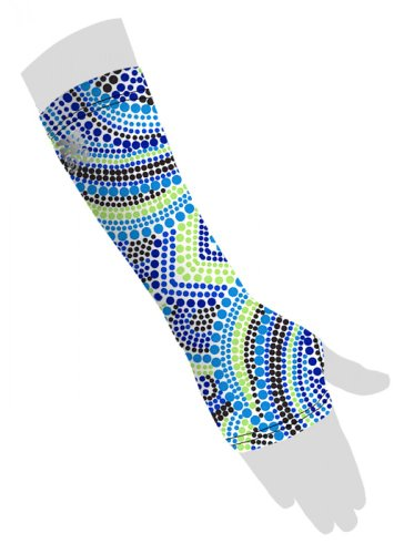 Wrist Sleeve with Thumb Hole - Astral - - S Astral