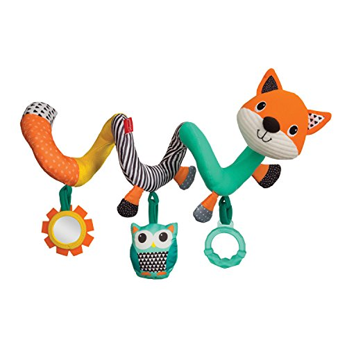 Infantino Spiral Activity Toy, Fox