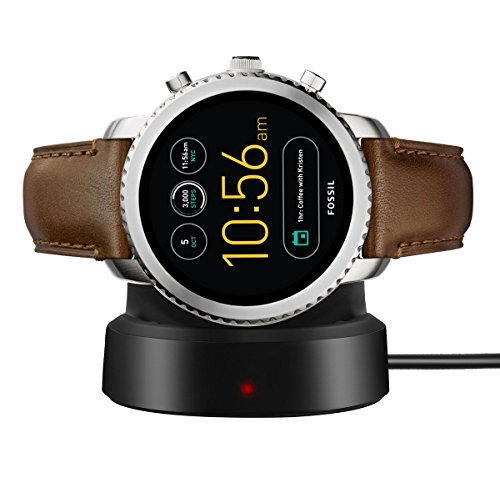 Lamshaw for Fossil Q Explorist Charger, Wireless Charging Dock Cradle Charger for Fossil Q Explorist (Chargeing Dock)
