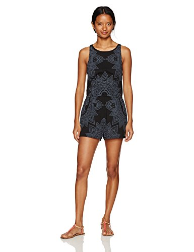 Metal Mulisha Women's Whole Lotta Love Romper, Jet Black S