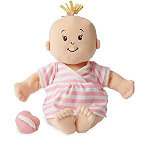 Manhattan Toy Baby Stella Peach Soft First Baby Doll for Ages 1 Year and Up, 15""