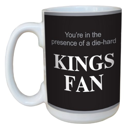 - Tree-Free Greetings lm44181 Kings Hockey Fan Ceramic Mug with Full-Sized Handle, 15-Ounce