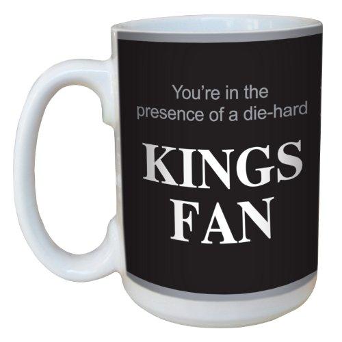 Tree-Free Greetings lm44181 Kings Hockey Fan Ceramic Mug with Full-Sized Handle, 15-Ounce