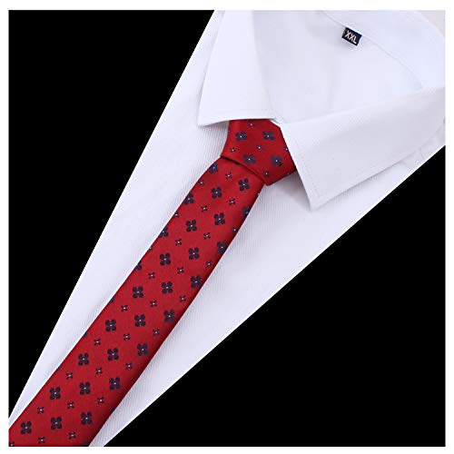 Tsheoul Noted Men's Polyester Printed Floral Neck Tie+ Gift Box by Tsheoul Noted (Image #1)