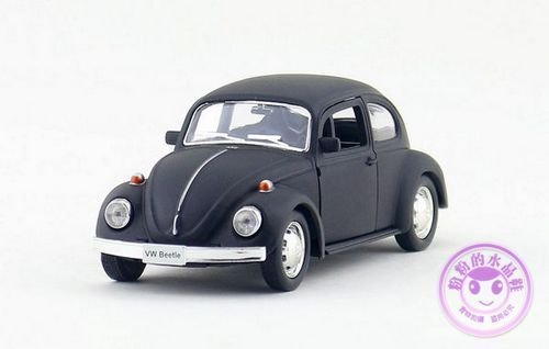 1:32 Volkswagen VW Beetle Alloy Diecast Car Model Toy Vehicle Gift Black B2524